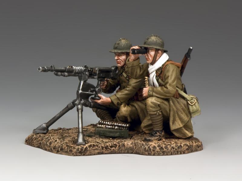 Hotchkiss Machine Gun Crew Set