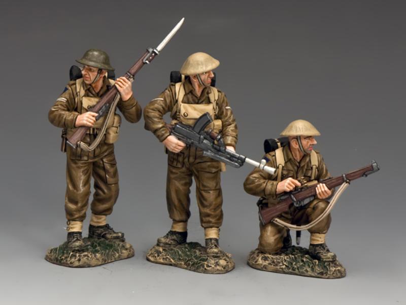Rear guard Trio