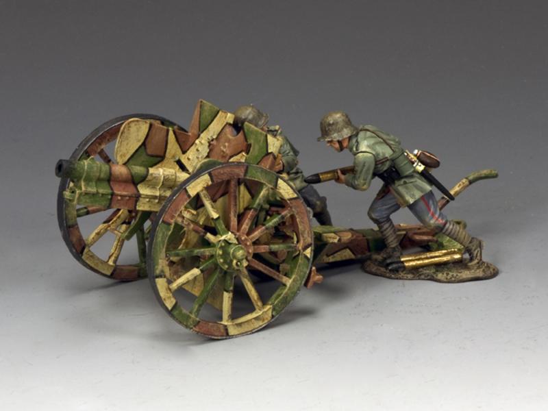 German 77mm Field Gun Set