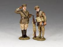 Capt. Edmund Blackadder & Pvt. Baldrick
