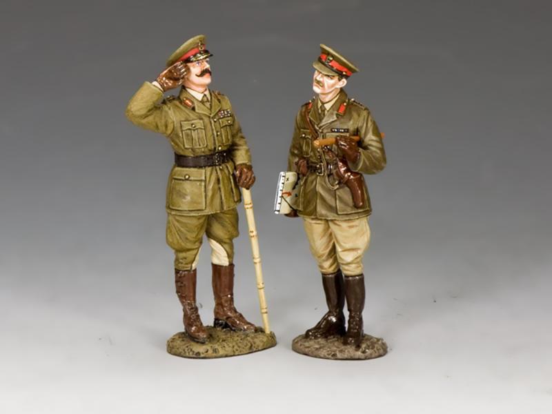 Gen. Melchett & Capt. Darling