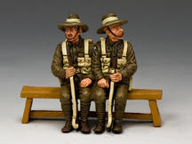 Sitting Anzacs Set #1 (Tasmania, South & Western Australia)