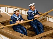 Oarsmen Rowing