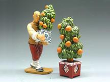 The Orange Tree Man and One Tree