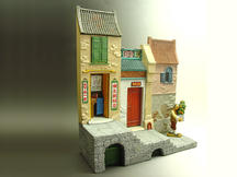 Chinese Terrace House with Tailor Shop