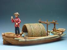 Sampan Set with Figure