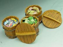 3 Food Barrels