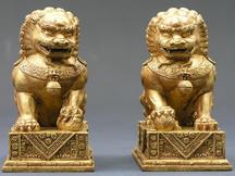 Gate Guardian Lions