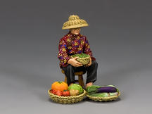 The Hakka Vegetable Seller (Gloss)