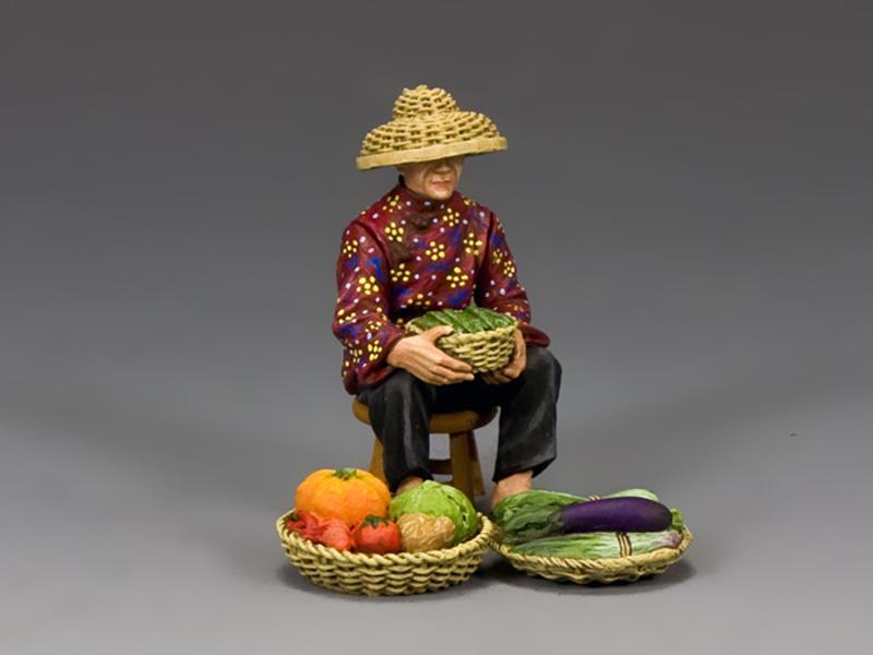 The Hakka Vegetable Seller (Gloss)