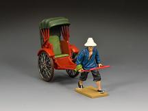 """The Running Rickshaw"" 2nd Version (Gloss)"