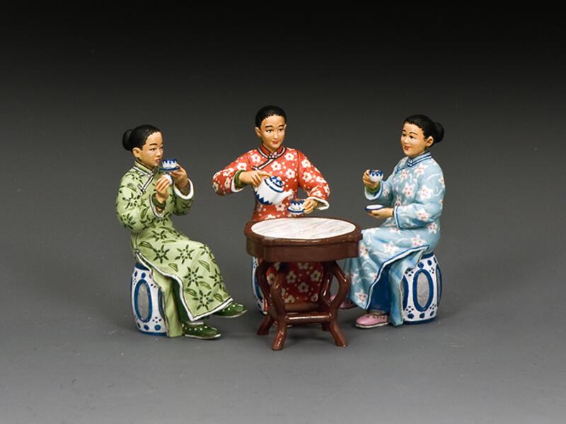 The Chinese Ladies 'Tea Set (Matt)