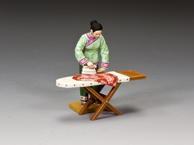 The Chinese 'Ironing Lady' (Matt)