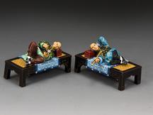 The Opium Smokers (Matt)