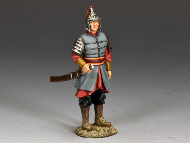 Chinese officer w/ Sword