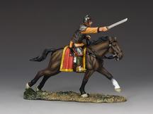 Horseman charging w/ sword