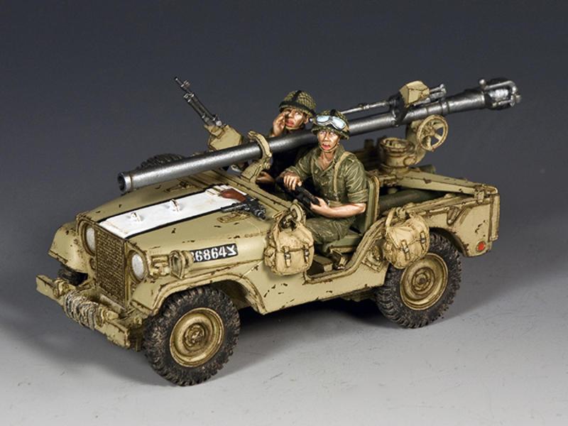 Israeli M38 Jeep w/106mm Recoilless Rifle