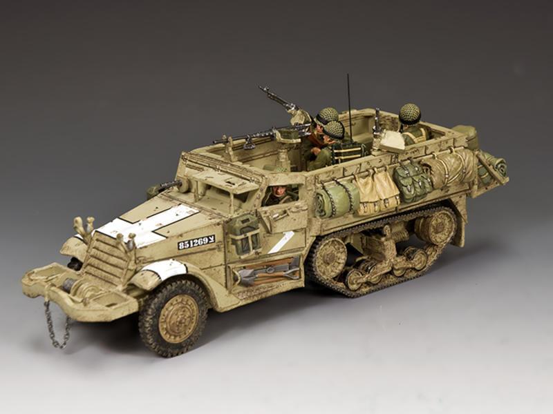 The Israeli Army M3 Halftrack