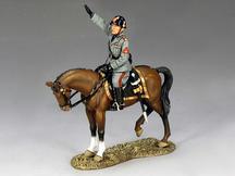 Mounted Mussolini