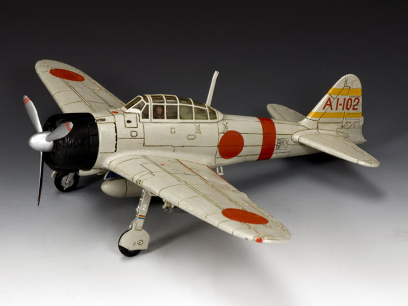 "The A6M Mitsubishi ZERO (1JNS ""Akagi"" version)"
