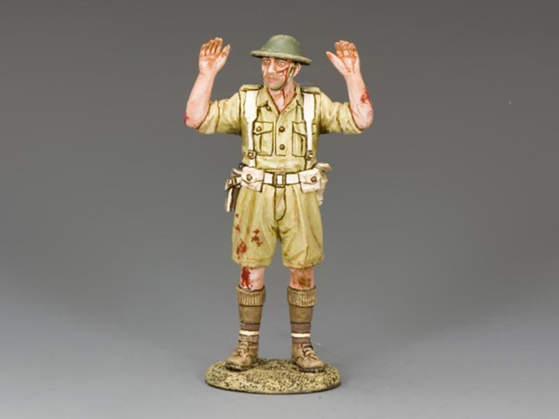 Captured British / Empire Soldier