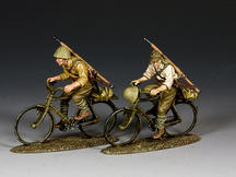 Japanese Riding Their Bicycles