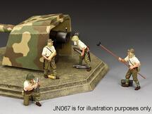 Japanese Coastal Gun Crew Set