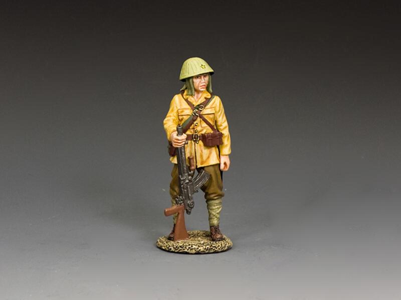 Standing I.J.A. Machine Gunner