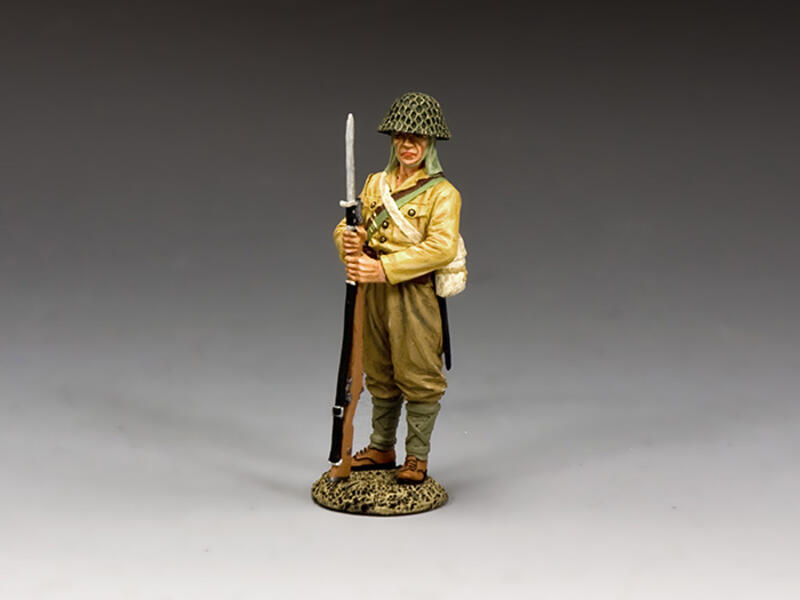 I.J.A. Soldier Standing at Ease