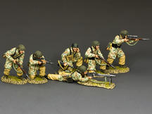 The Fallschirmjager Fire Support Group Set