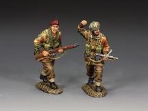 """Going Into The Attack"" (set of 2)"