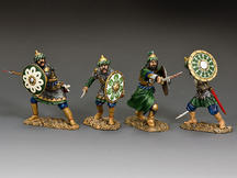 "The Fighting Saracens"" Set of four figures"