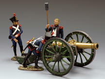 French Line Artillery, Cannon Set