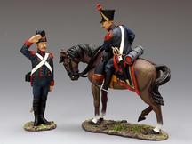 French Line Artillery, Commander Set