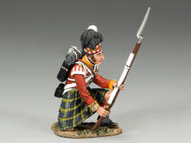 Gordon Highlanders Kneeling to Repel