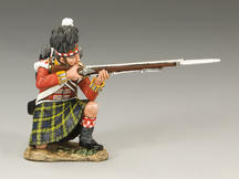Gordon Highlanders Kneeling Firing
