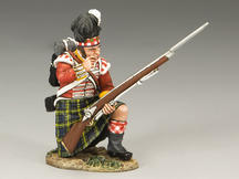 Gordon Highlanders Kneeling Loading