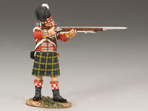 Gordon Highlanders Standing Firing