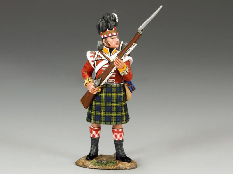 Gordon Highlanders Standing to Repel