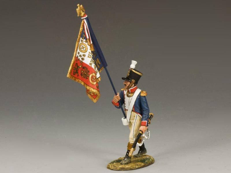 French Line Flagbearer