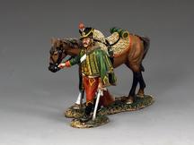 Hussar Walking w/Horse