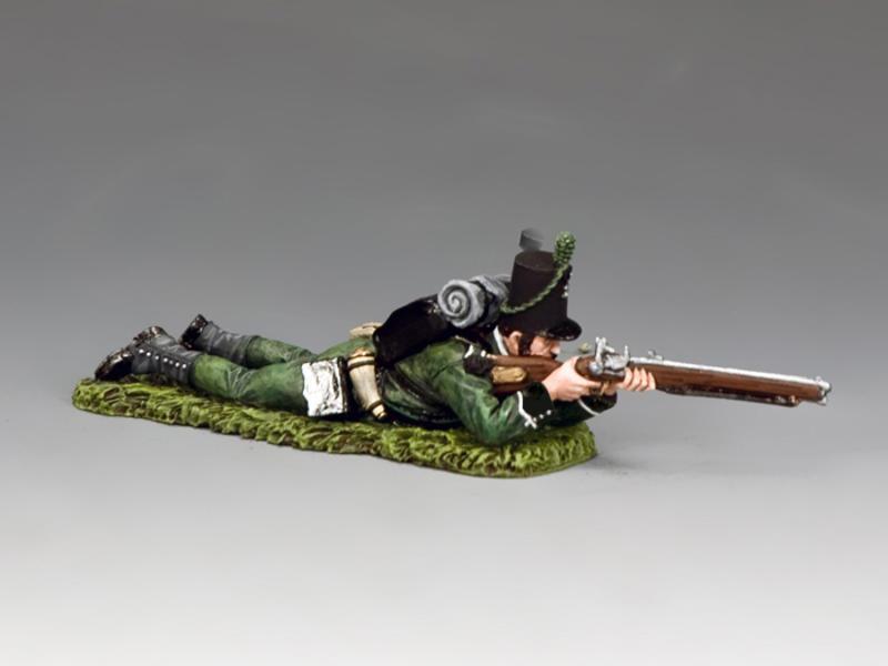 Lying Prone Rifleman