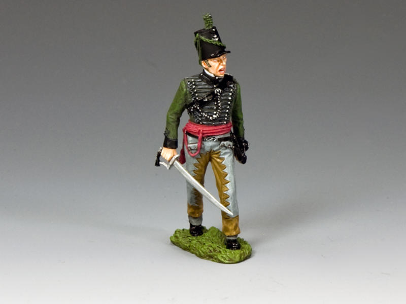 95th Rifles Officer w/ Sabre