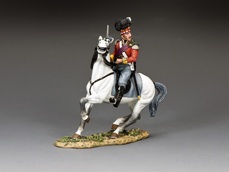 Gordon Highlanders Mounted Major
