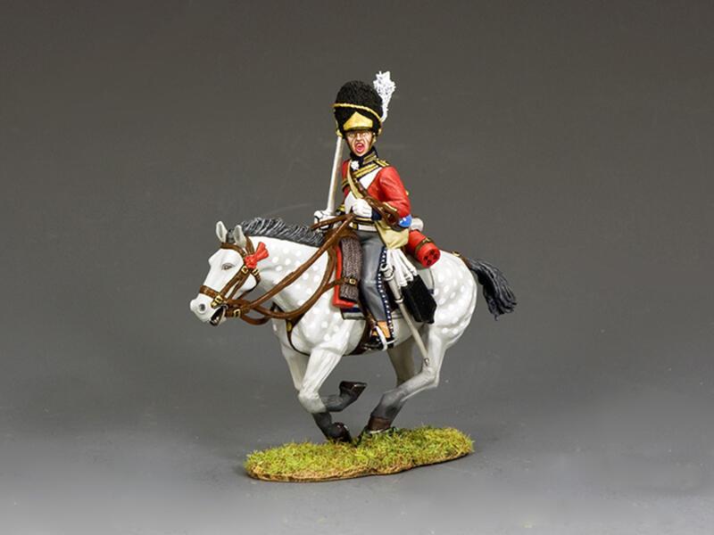 The Scots Greys Galloper