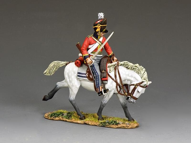 Scots Grey Charging w/Sword