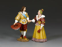 King Louis XIII & Queen Anne of France