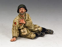 Red Army Soldier Sitting Wounded