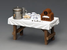 Tea & Sandwich Table