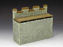 Roman Fort Straight Wall Section (Greystone)